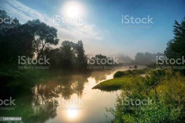 Photo of Moon light at night over river