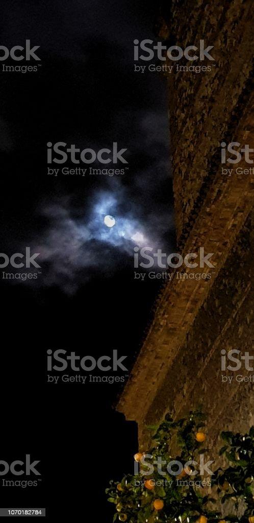 Luz de la luna - foto de stock