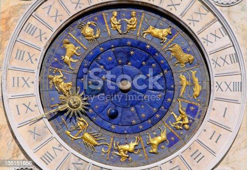 istock Moon phase clock 135151656
