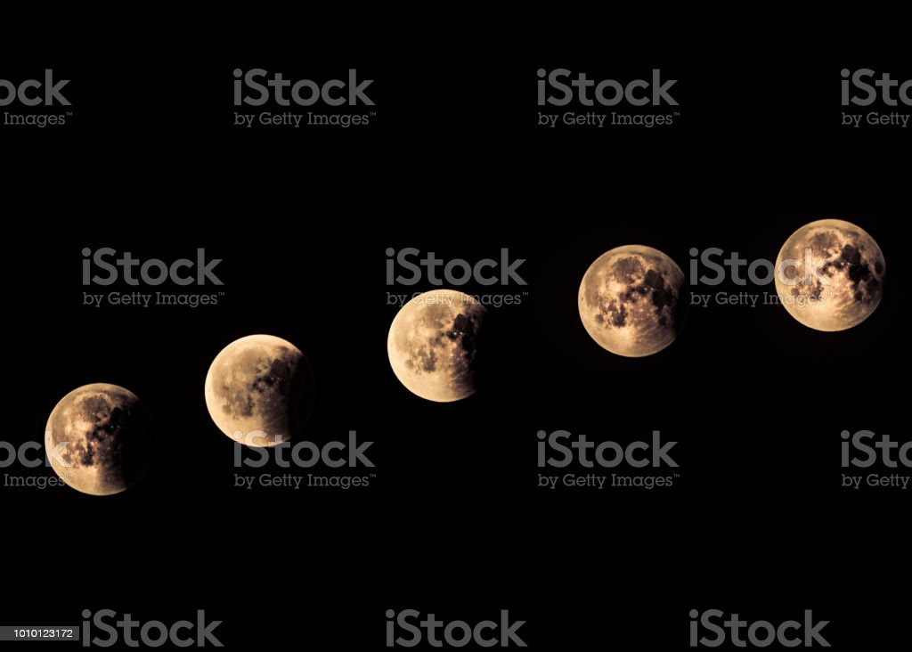 Moon Phases Total Lunar Eclipse 2772018 in Berlin