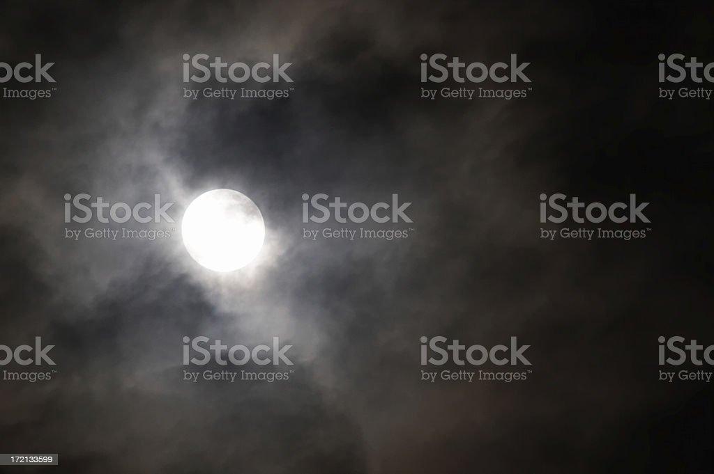 Moon (1) royalty-free stock photo