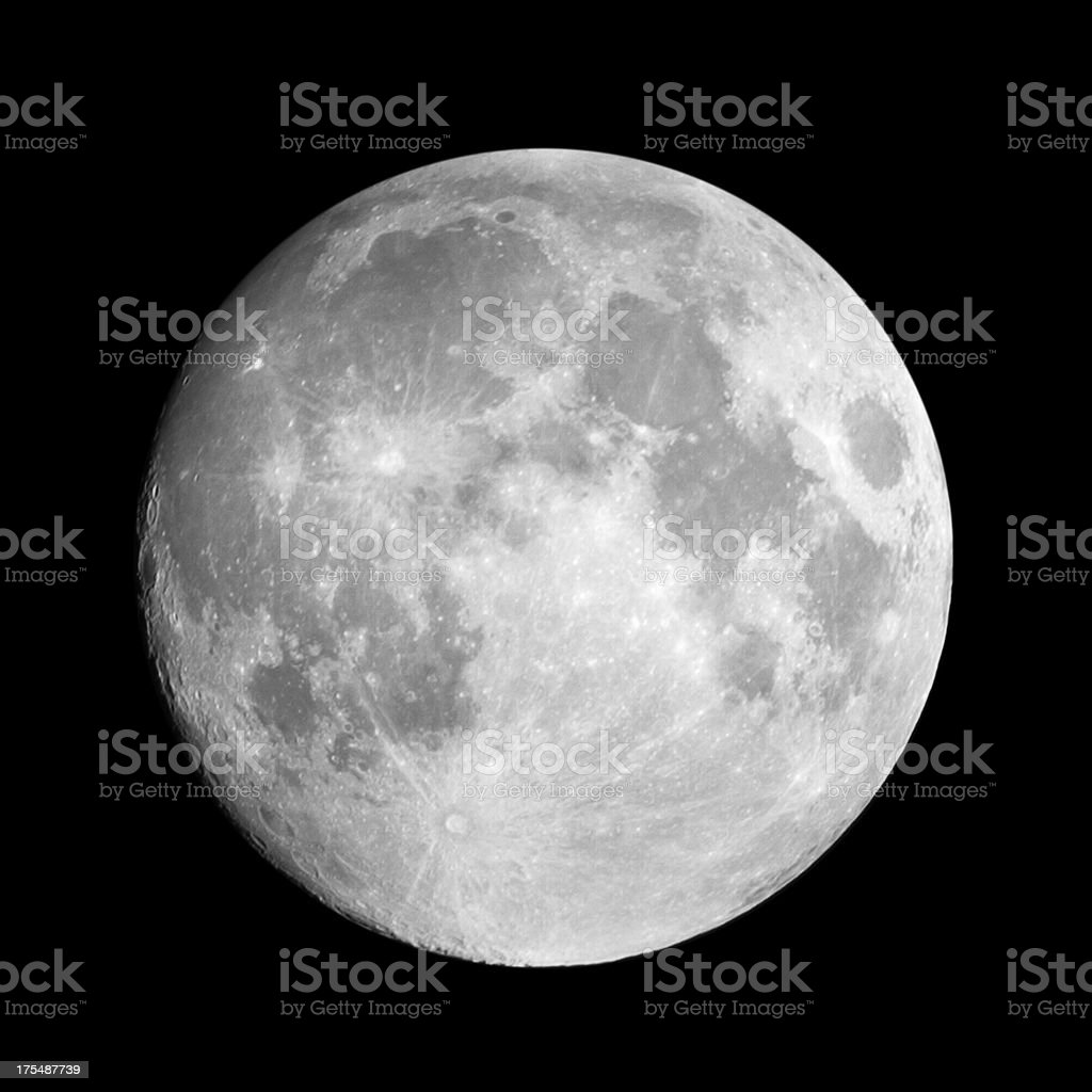 Moon stock photo