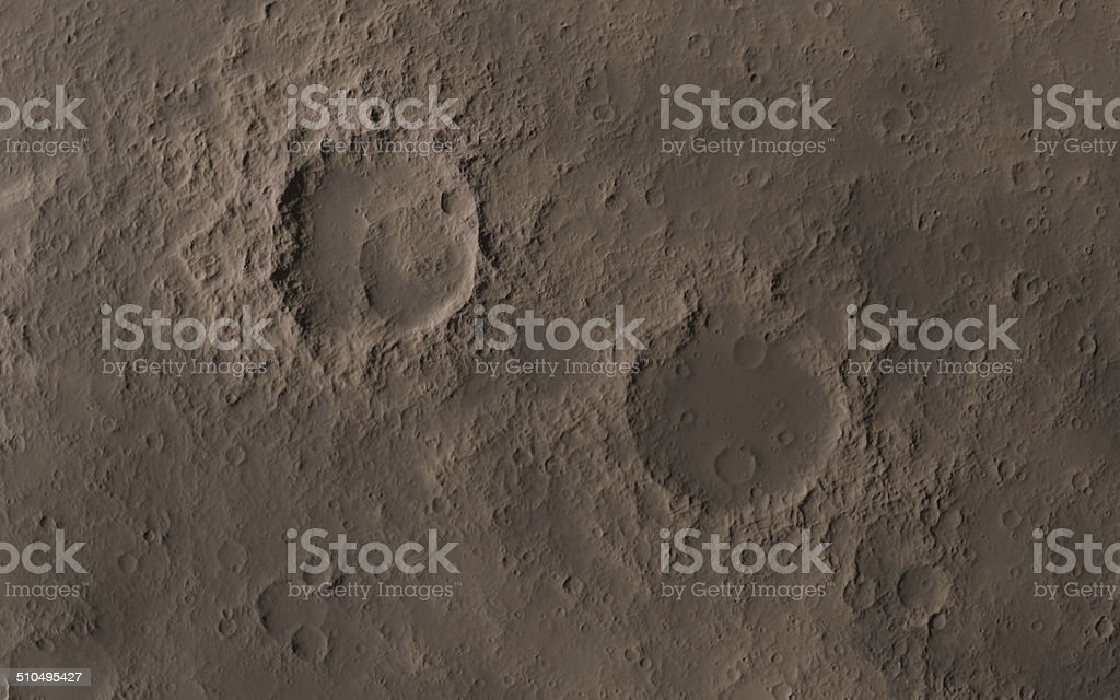 Moon surface stock photo