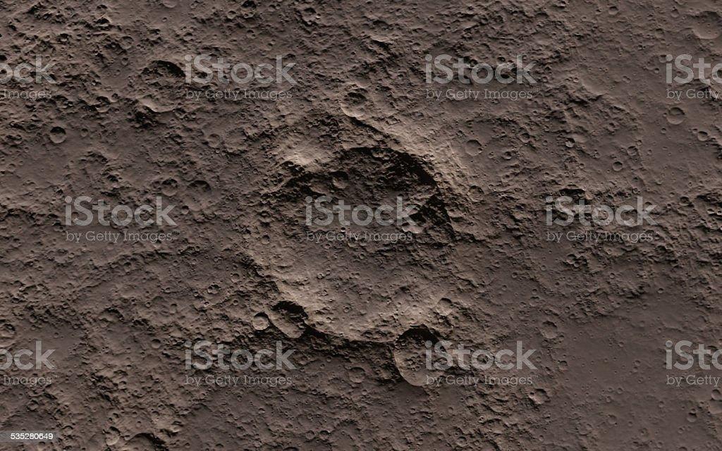 Moon texture stock photo
