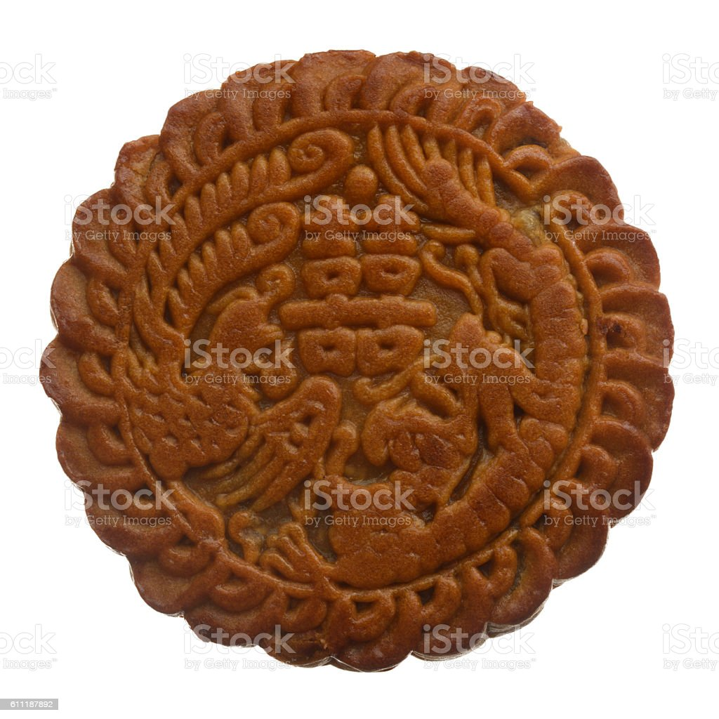 Mooncake for Mid-Autumn Festival in China royalty-free stock photo