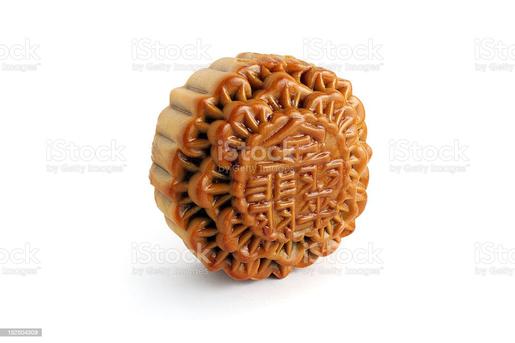 Mooncake royalty-free stock photo
