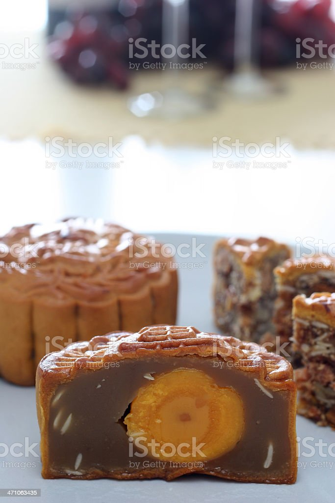 Mooncake royalty-free stock photo