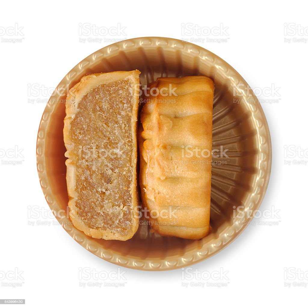 Mooncakes for Mid-Autumn Festival in China stock photo