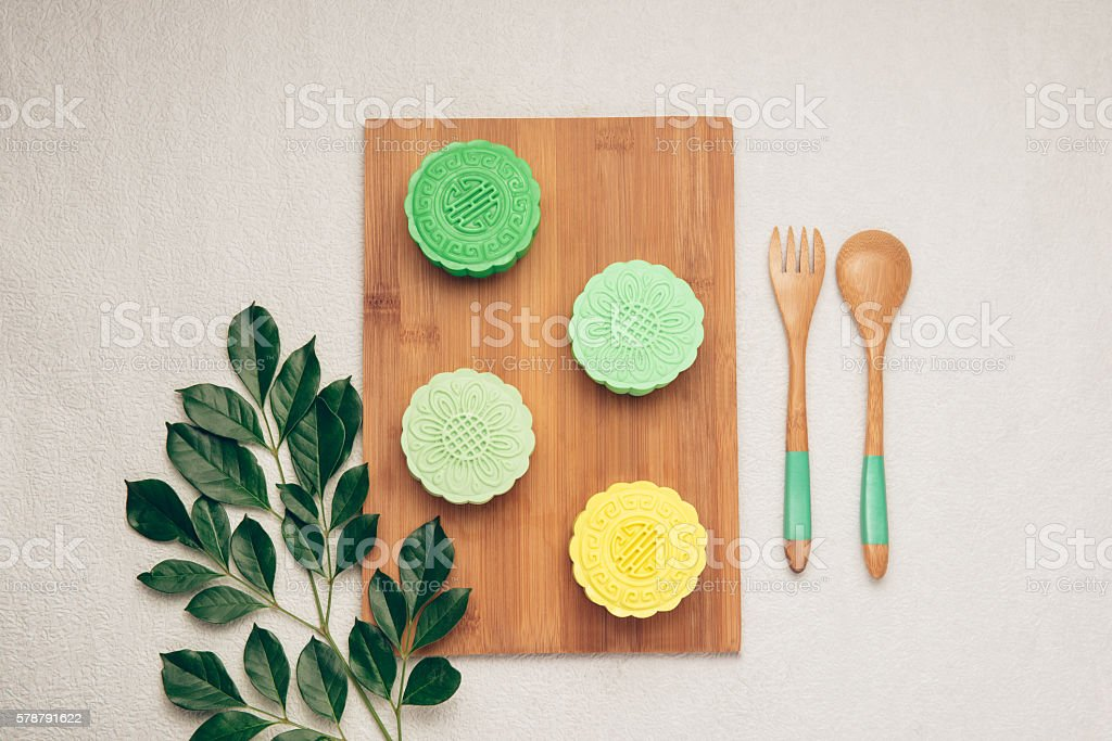 Mooncakes stock photo