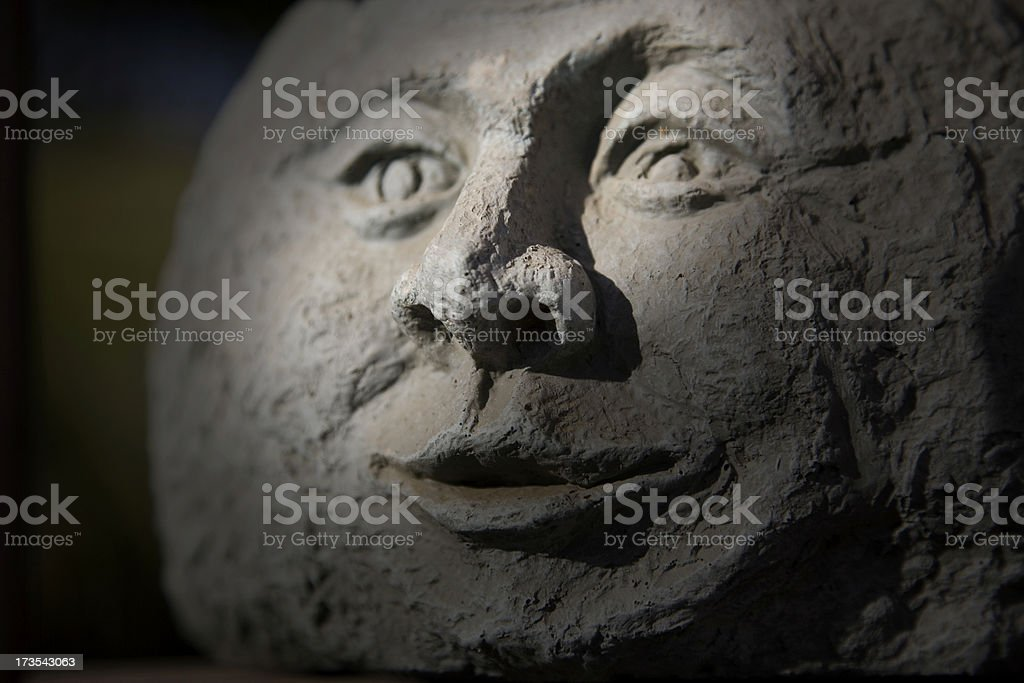 moonface stock photo