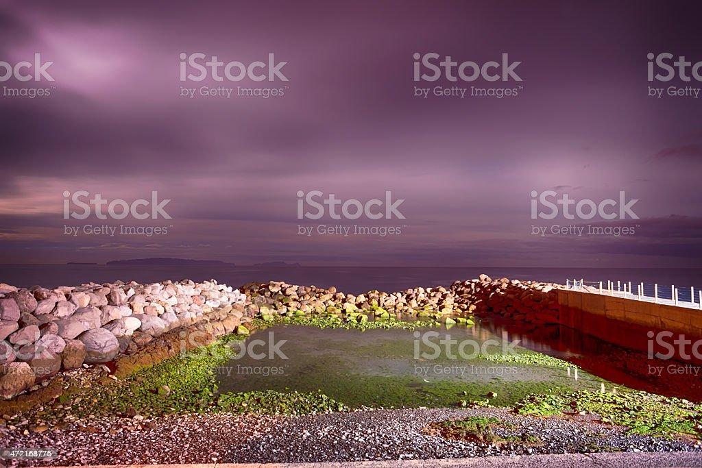 Moonlight Madeira 5. royalty-free stock photo