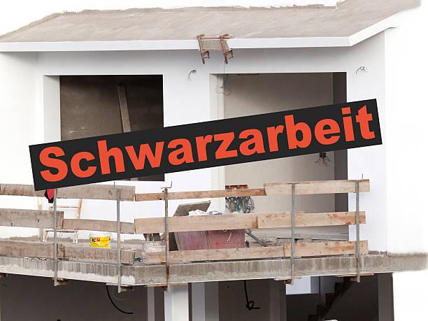 Schwarzarbeit – Foto