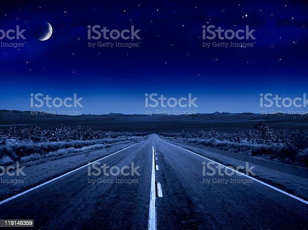 Photo of Moonlit Road