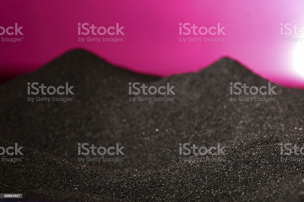 Moonscape royalty-free stock photo