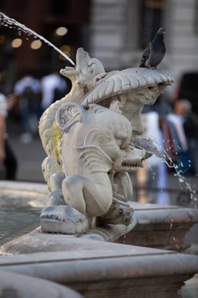 Moorbrunnen auf dem Navona-Platz in Rom – Foto