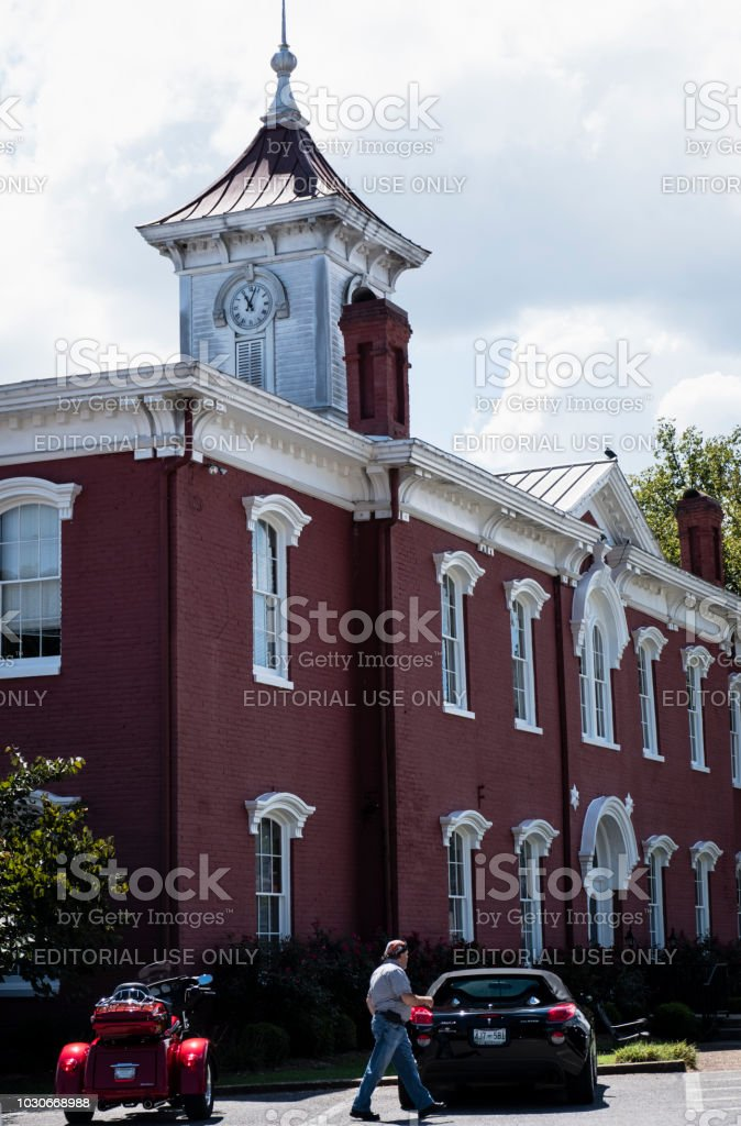 Moore County, Tennessee Government Offices stock photo
