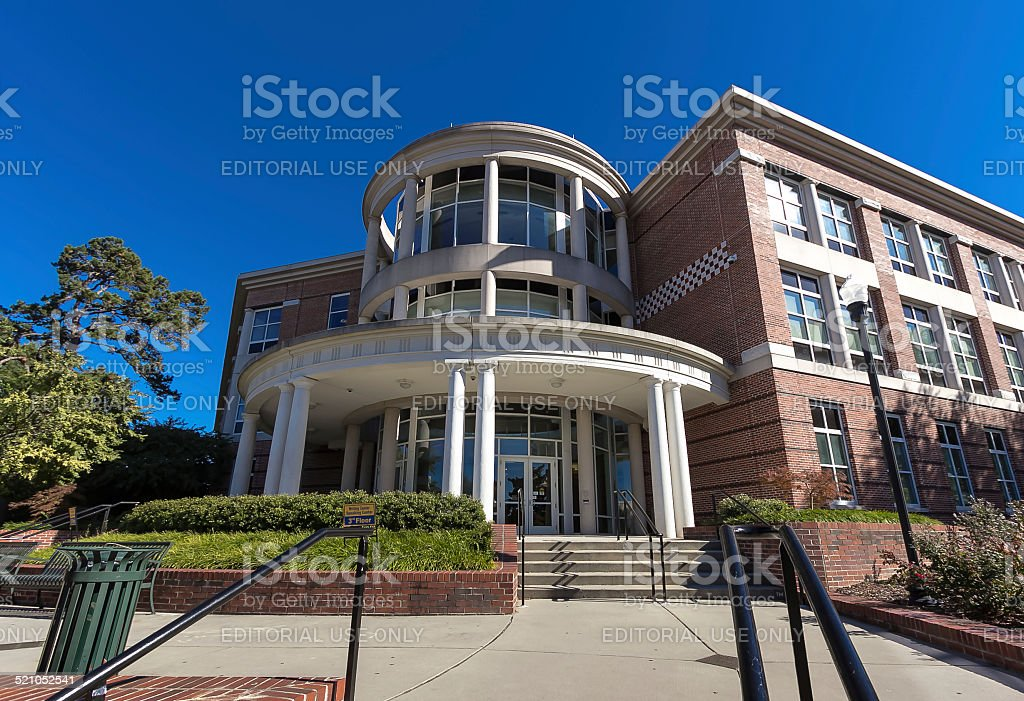 Moore Humanities & Research Administration Building at UNCG stock photo