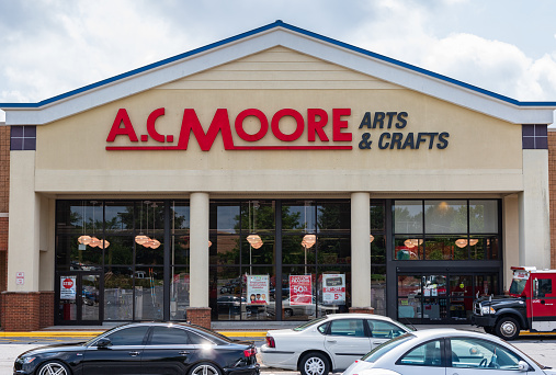 istock A.C. Moore storefront 1044833560