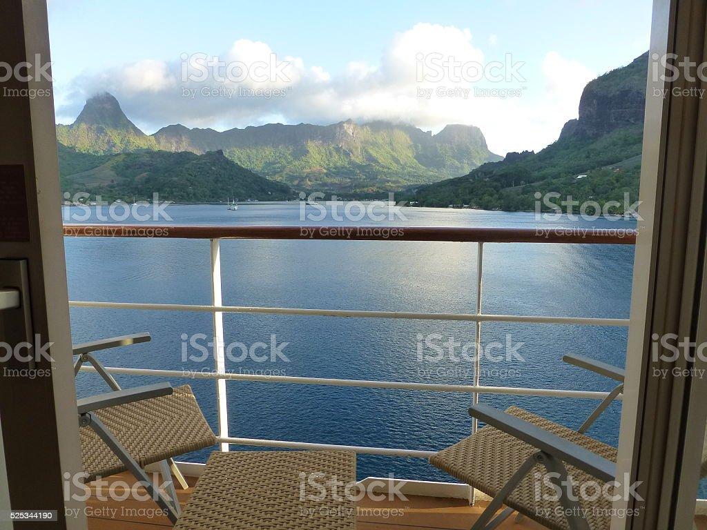 Moorea, French Polynesia stock photo