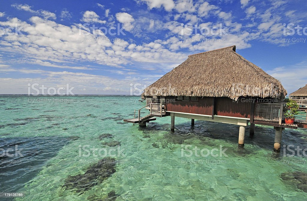 Moorea Island, Tahiti French Polynesia royalty-free stock photo