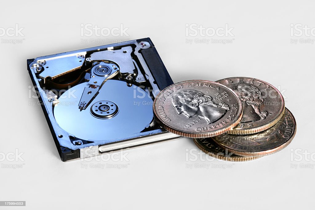 Moores Law stock photo