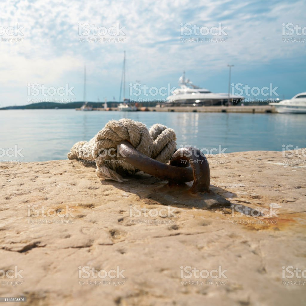 Anlegeplatz für Boote – Foto