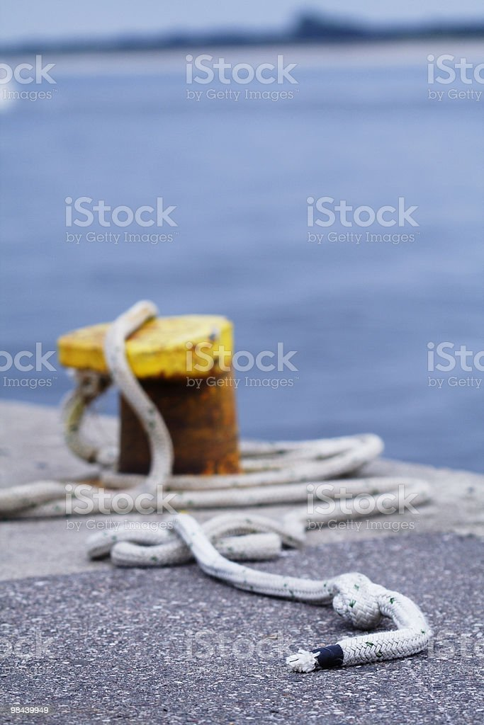 Mooring royalty-free stock photo