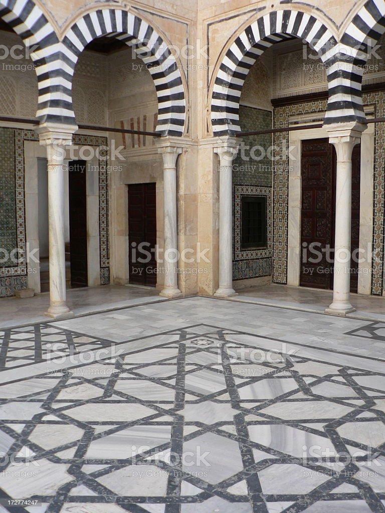 Moorish Arches royalty-free stock photo