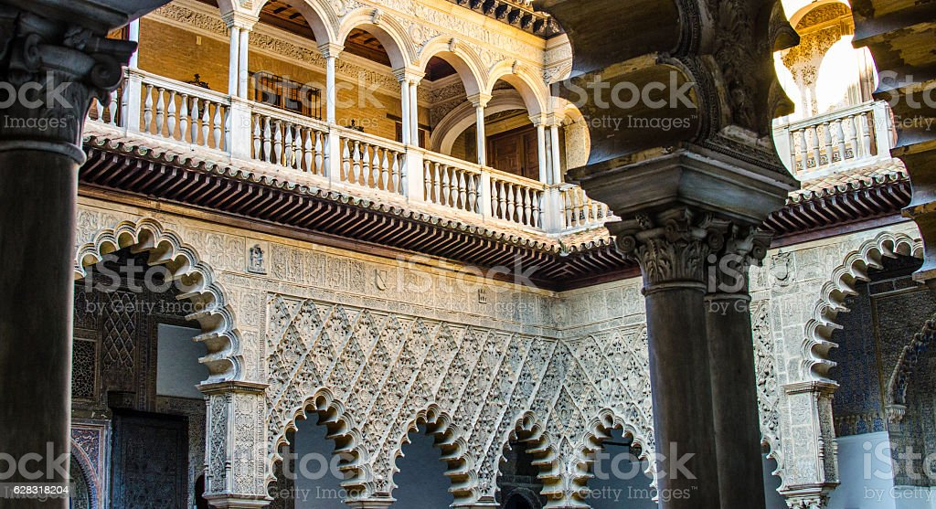 Moorish art from Seville in Spain - foto de stock