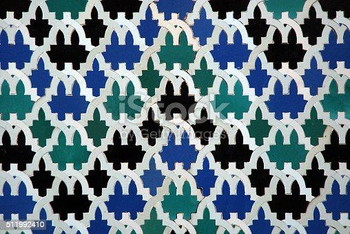 1034225626 istock photo Moorish mosaic background 511992410