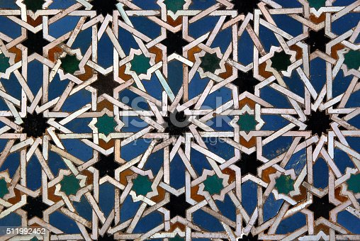 istock Moorish mosaic background 511992452