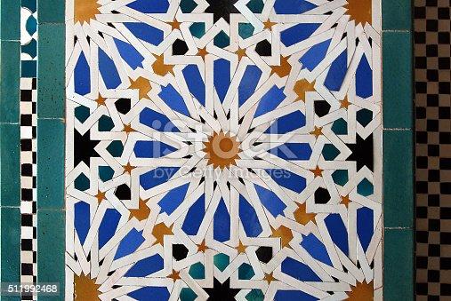 1034225626 istock photo Moorish mosaic background 511992468