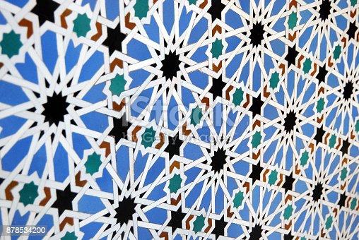 1034225626 istock photo Moorish mosaic in perspective 878534200