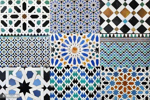 istock Moorish mosaic 878533964