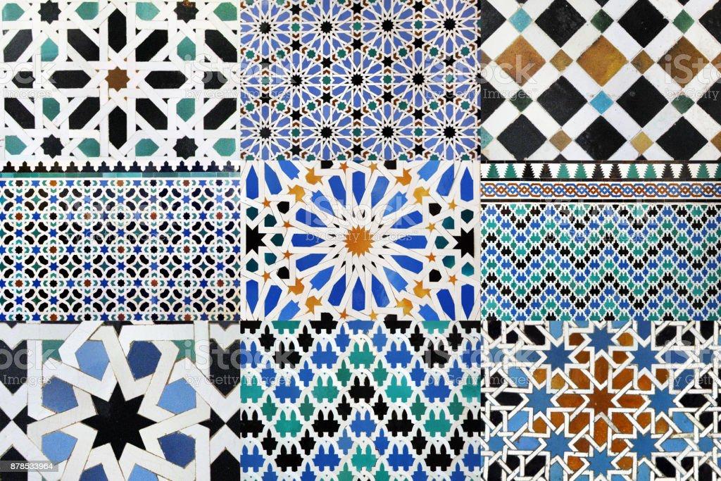 Maurisch mosaic – Foto