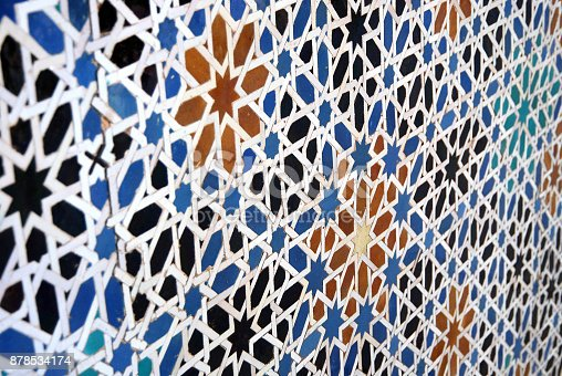 1034225626 istock photo Moorish mosaic (in perspective) 878534174
