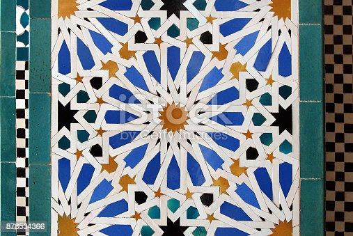 1034225626 istock photo Moorish mosaic 878534366
