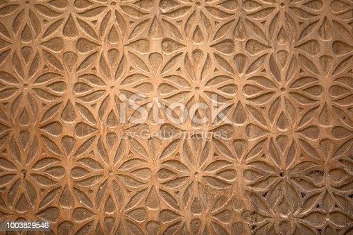 Moorish style wall decoration pattern