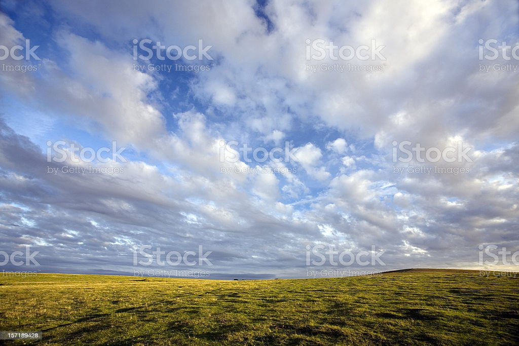 Moorland royalty-free stock photo
