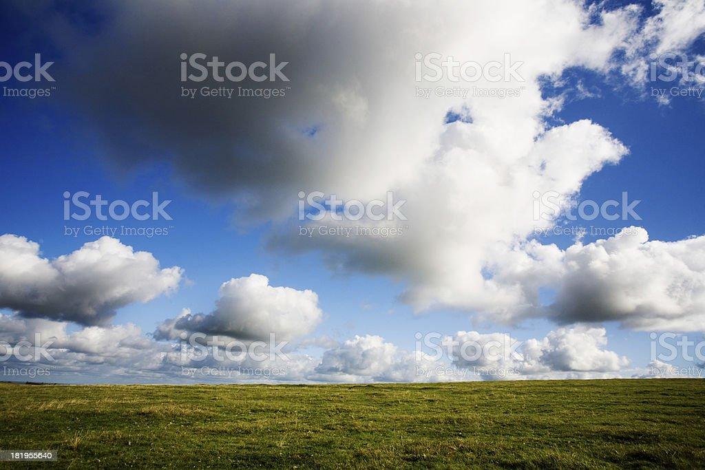 Moorland royalty-free stock photo