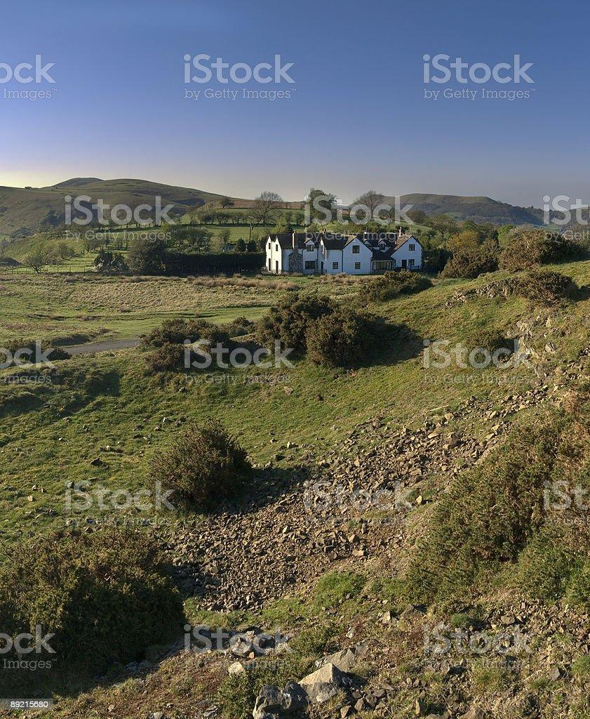 moorland stock photo