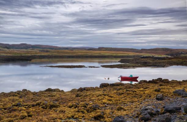 Moore im abgelegenen Teil von Skye Island. Schottland. – Foto