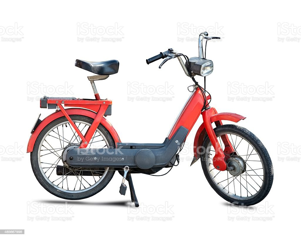 Moped, scooter stock photo