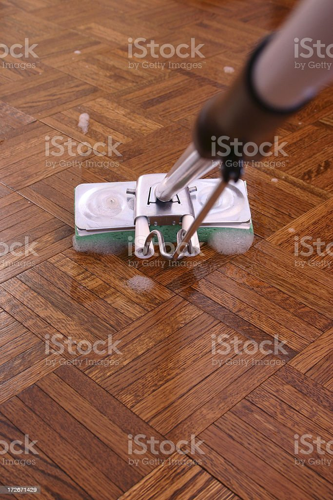 mopping 2 royalty-free stock photo