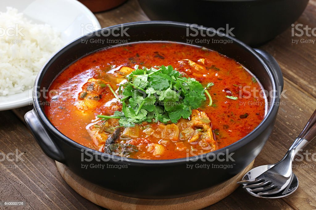 moqueca capixaba, brazilian fish stew – Foto