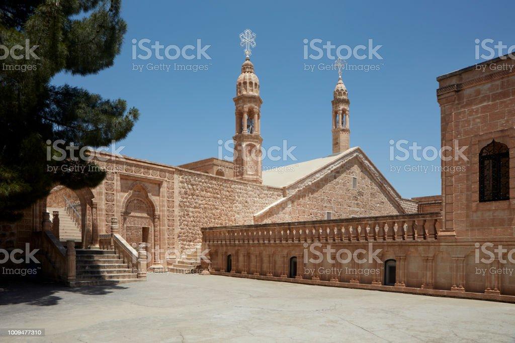Mor Gabriel (Deyrulumur) Midyat, le monastère, Mardin, Turquie. - Photo