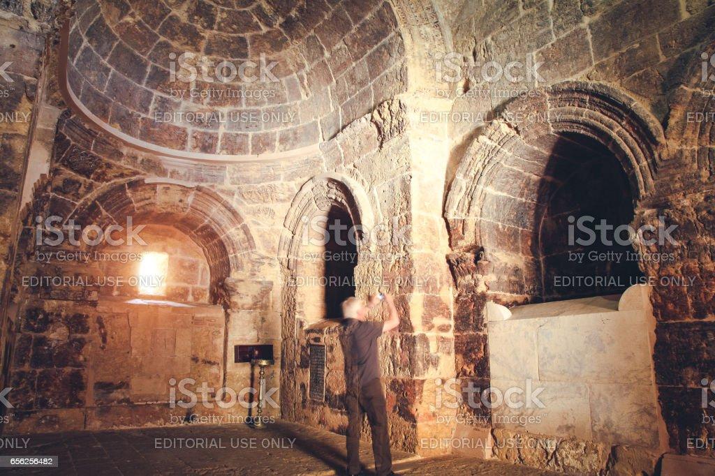 Mor Hananyo Monastery, Mardin, Turkey stock photo