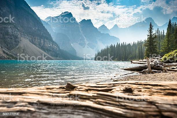 Moraine Lake in Banff National Park - Canada