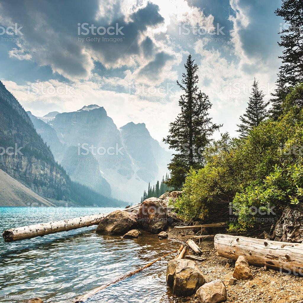 Moraine Lake in Banff National Park - Canada foto