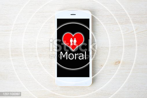 Moral for smart phone images